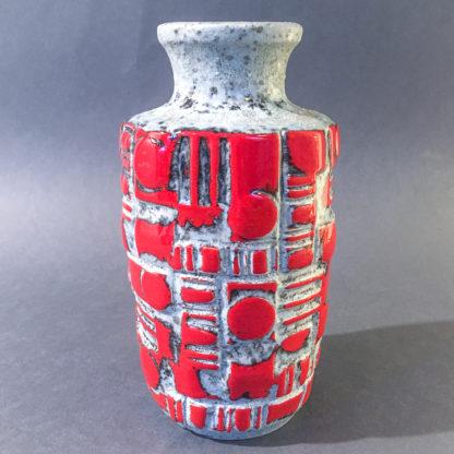 WG vase med fatlava glasur