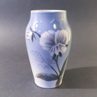 Bing og Grøndahl porcelænsvase julerose