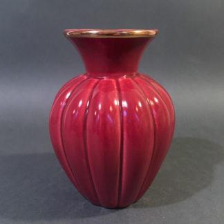 Vase med græskarriller
