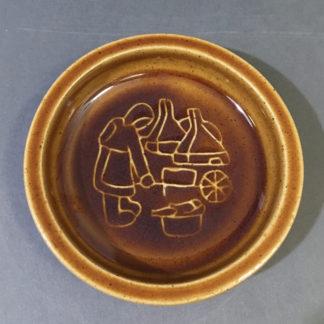 Keramikskål med røgeri