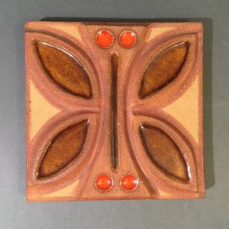 Søholm relief sommerfugl