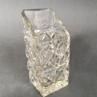 asymmetrisk krystalvase
