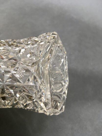 detalje sekskantet krystalvase